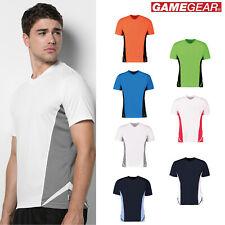 Gamegear V-Neck Regular Fit Players Sports Wear Top (Kk969)-Short Sleeve T-Shirt
