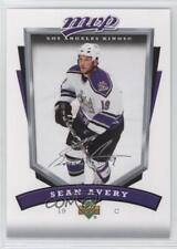 2006-07 Upper Deck MVP #139 Sean Avery Los Angeles Kings Hockey Card