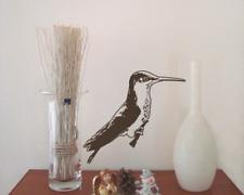 Wandtattoo Kolibri sitzend Wandaufkleber 25 Farben 4 Größen Wandsticker Sticker