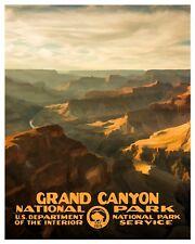 Vintage Grand Canyon National Park Poster