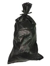 Yuzet noir sac de sable en polypropylène tissé UV preuve pourriture Proof-vide