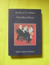 SJOWALL/WAHLOO - OMICIDIO AL SAVOY - SELLERIO EDITORE