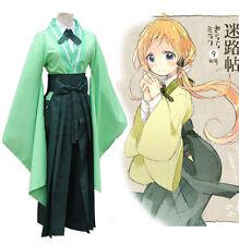 Urara Meirochou cosplay costume Natsume Nono Uniforme Anime Show Party Halloween