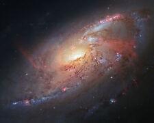 Galaxy M106 Seyfert Hubble JPL NASA space telescope photo HS-2013-06