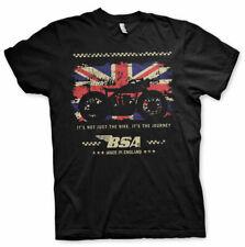 BSA Vintage Motorcycles Motorbike England Official Tee T-Shirt Mens
