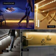 Sensor de Movimiento Inalámbrico PIR con tira de luces LED para Cama Cocina Baño