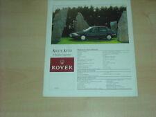 36196) Rover 214 Si Polen Prospekt 199?