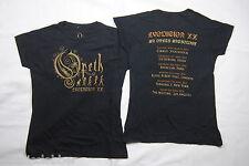 OPETH Evoluzione XX World Tour Donna Skinny T SHIRT NUOVA UFFICIALE RARA bacino idrografico