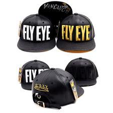 Unisex Mens Womens Von Dutch Originals Fly Eye Baseball Cap Belt Snapback Hats