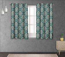 S4sassy Damask Double Panel Window Treatment Curtain-FL-35C
