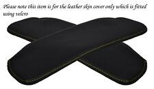 YELLOW STITCHING FITS TOYOTA MR2 MK3 00-05 2X SUN VISORS LEATHER COVERS