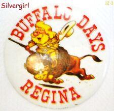 Retro/Vintage Fun Pinbacks Telemiracle, Buffalo Days, Govan Fiddle, Canada 125th