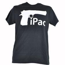 Spencers iPac Mac Apple Computer Parody Gun TShirt Trigger Black