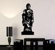 Vinyl Wall Decal Buddha Statue Buddhism Decor Stickers Mural (ig4725)