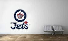 Winnipeg Jets Logo Wall Decal NHL Hockey Decor Sport Vinyl Art Mural Sticker