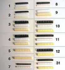 Acústica 12 Cuerdas, Bajo, Guitarra Eléctrica NUTS N1,2,3,4,5,6,7,8,9,10,11,12,31