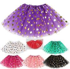 Gonna Tutù Tulle Tutulette Bambina Danza Casual Teatro Girl Tutu Skirt DAS024