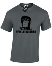Viva La Evolucion Hommes T Shirt Top Funny Che Guevara Révolution emblématique communiste