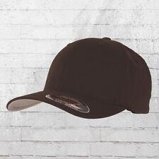 Flexfit Blanko Cap braun Mütze Kappe Schirmmütze Schildmütze Basecap Haube Capi
