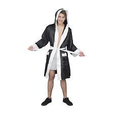 Adult Unisex Halloween Costume Boxing Robe with Hood