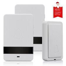 Premium 4 Volume 1000FT Wireless Doorbell 28 Chimes Waterproof 1 or 2 Receivers
