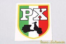 """VESPA Dekor Aufkleber """"PX - Italienische Flagge"""" Sticker Beinschild Fahne Italy"""