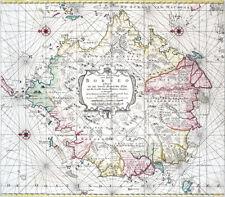 Reproduction carte ancienne - Bornéo (Indonésie) en 1753 (Borneo - Indonesia)
