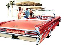 1959 Pontiac Bonneville Convertible - Promotional Advertising Poster