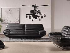 banksy hélicoptère autocollant mural vinyle contemporain chambre décoration art