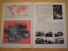 I rotoli royce.b gamma BENZINA engines.sales pamphlet.new.