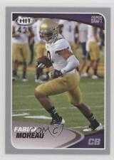 2017 Sage Hit Silver #118 Fabian Moreau UCLA Bruins Rookie Football Card