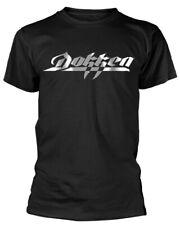 """Dokken """"Logo en métal"""" T-shirt-NOUVEAU & OFFICIEL!"""