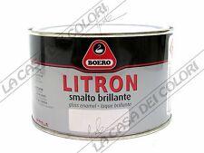 BOERO LITRON - TINTE CARTELLA - 375 ml - SMALTO OLEOSINTETICO LUCIDO PER ESTERNI