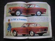 FIAT 2300 COUPE S SU 200 ALL'ORA DEL 1961