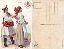 Women in Croatian National Wear, Spain, 1900s