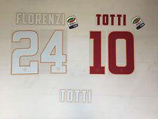 2704 ROMA NAME SET NOME E NUMERO ROMA SHIRT JERSEY 2014 2015 HOME AWAY OFFICIAL