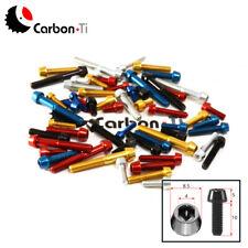 CARBON TI Aluminium Screw / Tapered head Al7075 - M5x10 /Black, Gold, Red, Blue