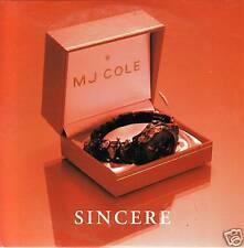 MJ COLE Sincere 6TRX w/ REMIXES CARDED OZ CD JAZZANOVA