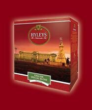 Hyleys English Ceylon Scottish Aristocratic Breakfast  Black Green Tea 100 bags