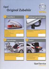 Opel Original Zubehör Prospekt 1 Bl ca 2006 accessories