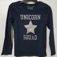 Licorne Équipe Haut T-Shirt Filles Enfants Manches Longues Star Débardeur