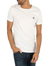Calvin Klein Jeans Herren Essential Slim T-Shirt, Weiß