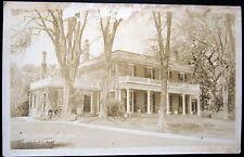 """Elisworth Maine ~ 1930's The Black House """" ~ Real Photo Pc Rppc"""