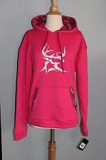 NEW Bushmaster Realtree Pink Hoodie Womens L or XL Hooded Sweatshirt Camo Buck