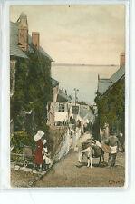 England, Clovelly Street Scene 1907 (361-89)