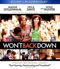 Won't Back Down (Blu Ray) former rental