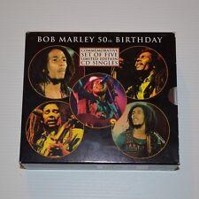 Bob MARLEY - 50th birthday - 1995 LTD. EDITION BOX x 5CDSingle PICTURE DISC