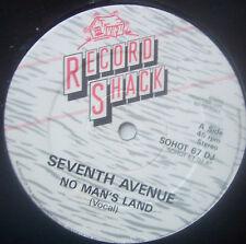 "SEVENTH AVENUE ~ No Mans Land ~ 12"" Single PROMO"