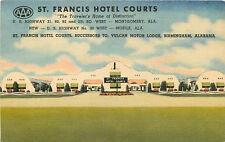 MONTGOMERY/MOBILE AL ST. FRANCIS HOTEL COURTS LINEN P/C