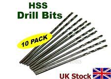 acero de alta velocidad brocas HSS Pack de 10 Tamaño a elegir - GB
